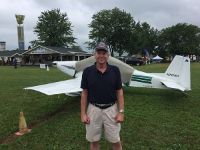 At AirVenture Oshkosh July, 2018